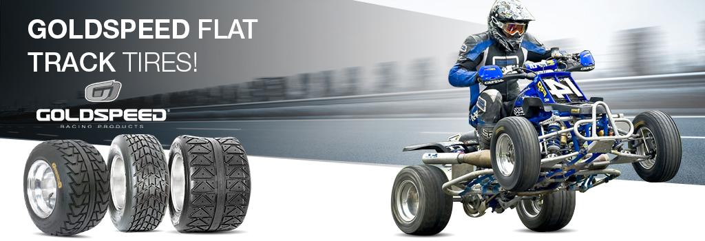 Goldspeed flat track tires!